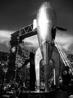 Raygun Gothic Rocketship
