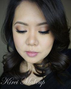 Soft Romantic Makeup using UD Naked 3 - Kirei Makeup