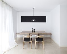 C15 Apartment is a minimalist home located in Valencia, Spain, designed by Carlos Segarra Arquitectos. Within an apartment of a new dwelling building, the architects were charged to change aesthetics and space with minimal intervention and a single premise, the amplitude. After studying the original distribution, they decided that removing one wall and improving the connection with the kitchen was enough to satisfy the needs of the clients. The designers decided to unify in white all the…