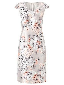 ENCHANTED BLOSSOM DRESS Perfect for wedding party or Mother of the Bride this delicate pattern is flattering and works well throughout the seasons.