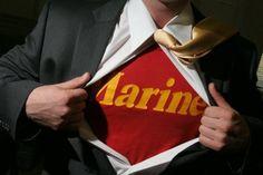 Who needs a superhero when you're married to a Marine?