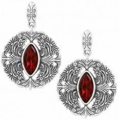 Rouge Lace Post Drop Earrings available at #BrightonCollectibles
