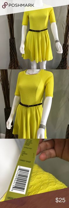 Gianni bini yellow dress🌟 Paid full price dress in excellent condition with tags ..pretty spring and summer color Dresses
