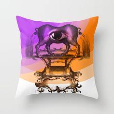 Policefalia Throw Pillow by rubenlorenzo Pablo Picasso, Ecole Art, Batman, Throw Pillows, Superhero, Fictional Characters, Chart Design, Graphic Design, Toss Pillows
