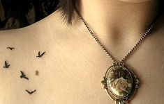 Simple Black Tattoos For Women
