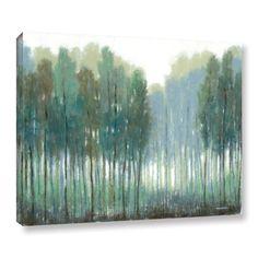 ArtWall Norman Wyatt JR's Somber Coastline, Gallery Wrapped Canvas