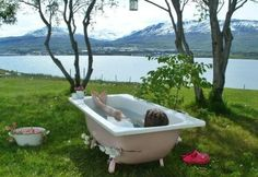 Bathtub With a View - likne in my childhood at Varpalota :))))