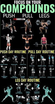 Build Muscle And Blast Fat With The Push/Pull Worko&; Build Muscle And Blast Fat With The Push/Pull Worko&; Jonny Freakes jfreakes fitness Build Muscle And Blast Fat With The […] training full body Push Pull Workout Routine, Push Pull Legs Workout, Push Workout, Workout Splits, Gym Workout Chart, Gym Workout Tips, Workout Routine For Men, Work Out Routines Gym, Studio Workouts