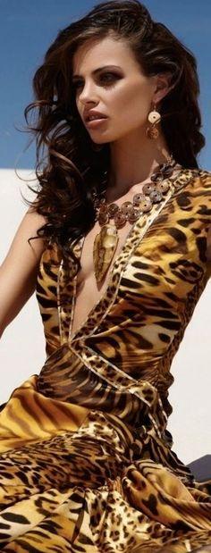 ~Renee's Random Likes~ Animal Prints In Fashion, Animal Fashion, Fashion Prints, Fashion Mode, Look Fashion, Tiger Print, Cheetah Print, Leopard Fashion, Glamour