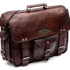 Handmade World leather messenger bags for men women mens briefcase laptop  bag best computer shoulder satchel school distressed bag 2fa4fcf5f33c5