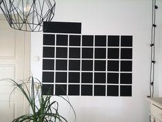 Calendario de pizarra para la pared