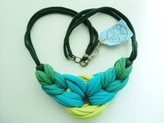 Floral Pectoral Deep Sea by AshenDrift on Etsy, $35.00
