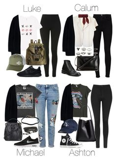 5SOS Styles: Oversized Black Cardigan by fivesecondsofinspiration on Polyvore featuring polyvore fashion style agnès b. MadeWorn Acne Studios Topshop Frame Denim Yves Saint Laurent NIKE Converse 3.1 Phillip Lim Carven Prada Billabong Chloé clothing