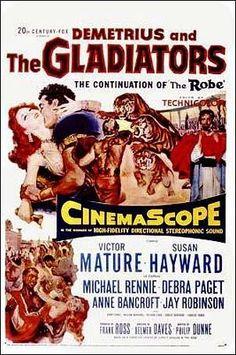 clasicofilm: Demetrius y los gladiadores (1954) HD-720