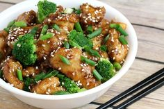 Get the distinct flavors of Chinese take-out at home with a few simple ingredients! This sesame chicken recipe is delicious, low carb and gluten free!