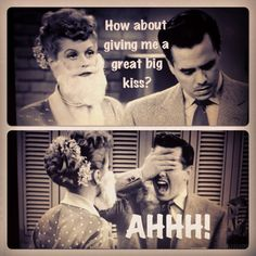Lucille Ball Funny | Both Ricky and Desi loved the feminine Lucy. Ha ha!