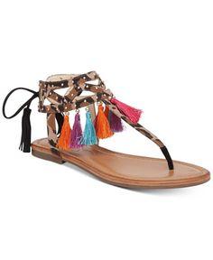 624e0bddb79bfb Jessica Simpson Kamel Embellished Flat Thong Sandals - Sandals - Shoes -  Macy s Flip Flop Sandals