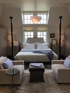 Beautiful contemporary bedroom
