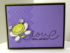 Karen's Kraft Room: Paper Smooches Love You Dearly