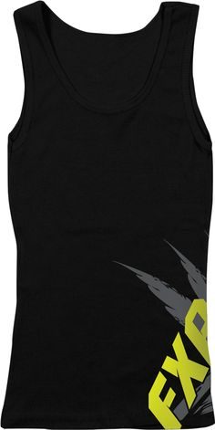 FXR Racing - Snowmobile Gear - Women's Brisk Tank Top - Black