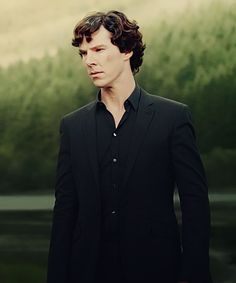 Sherlock (I love this scene in A Scandal in Belgravia)