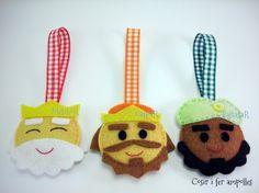Otra manualidad navideña para hacer con peques // Tres Reyes Magos