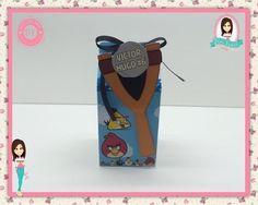 Caixa Milk Personalizada - Angry Birds