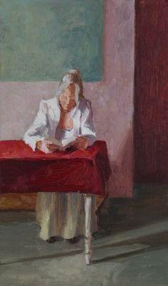 Claartjevanderlinden.nl Reading woman