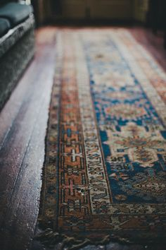 I used to have a similar one that finally decayed and shredded all the way! The natural dyes are so wonderful in the Malayar rugs.