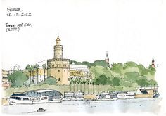 In Sevilla and Cordoba | Urban Sketchers