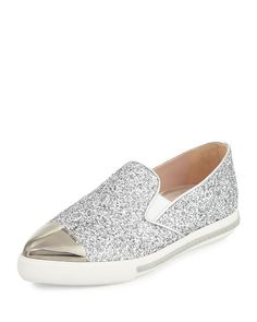louboutin Loafer Argento