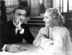 Charles Boyer | Charles Boyer and Jean Arthur in History is Made at Night directed by ...