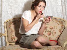 "Esther Comar (Actrice - ""Ma Première Fois"")"