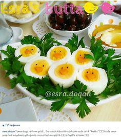 Alintidir yumurta Food Crafts, Diy Food, Mezze, Crudite, Food Garnishes, Food Decoration, Just Cooking, Turkish Recipes, Snacks