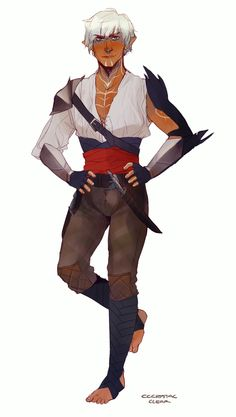 cccrystalclear:  Kind of a mixed outfit I thought up, the world of thedas concept meets pirates.