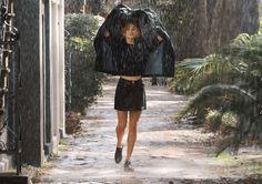 "Madison Bildahl models GAP spring 2015 collection in ""Spring Showers!"" cinemagraph by Jamie Beck & Kevin Burg of Ann Street Studio in Savannah, Georgia."
