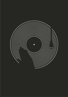Turntable. I think Nathan would love a shirt with this design on it.