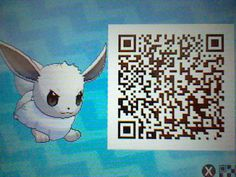 Hime-chan, My Shiny Eevee! Hailing from Pokemon Alpha Sapphire some months ago, I still can't decide what to evolve her into! (-^_^-; Oh well, anyways, here's her Pokemon Sun Moon QR code !