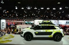 Citroën #MondialAuto #Stand #Citroen #C4CactusAventure