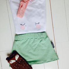 Lief rokje van Yoemy in verschillende maten mail yoemy@yoemy.com voor meer info #baby #sweet #adorable #mintgroen #soft #summer #girl #gift