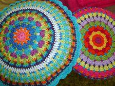 Mandala cushions