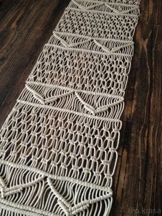 Macrame Table Runner, Wedding Table Runner, Table Runner, Boho, Bohemian Wedding, Modern Macrame, Fringe, Modern Tablescape, Tablecloth