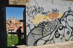 Sé do Porto / Hazul street art