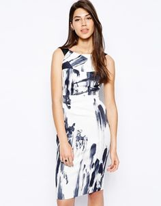 Karen Millen Dress in Graphic Print