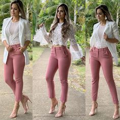 Beautiful Business Casual Attire for the Ladies For any graduates or recent professionals who are about to start working or working already and need some ideas about the appearance of a casual b… Classy Outfits, Chic Outfits, Summer Outfits, Fashion Outfits, Womens Fashion, Work Outfits, Ladies Outfits, 50s Outfits, Formal Outfits