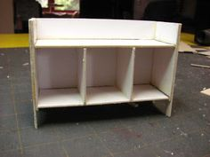 Dollhouse Miniature Furniture - Tutorials | 1 inch minis: country buffet