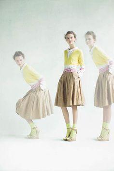 muveil.  I'm sorry, I'm sorry. I KNOW she has socks on with high heeled sandals. But I like it.