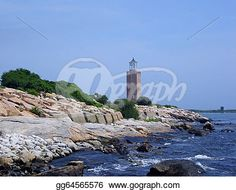 """""""Avery Point Lighthouse"""" -Connecticut Stock Photo from gograph.com"""