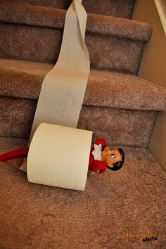 Housewife Eclectic: Our Favorite Elf on the Shelf Ideas