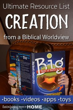 Looking for resources that will help you can find to help you teach a biblical view of creation to your kids? Take a look at this resource list of books, videos, toys, and more. Science Curriculum, Science Resources, Homeschool Curriculum, Science Activities, Homeschooling, Best Science Books, Science For Kids, Bible Science, Elementary Science